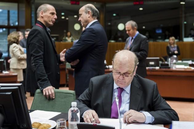 Belgium EU Finance MInisters