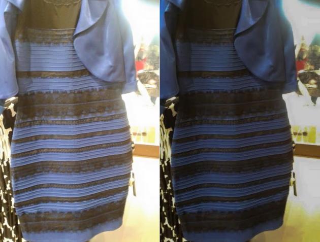 Dress original and new