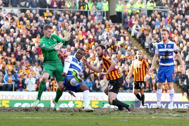 Soccer - FA Cup - Sixth Round - Bradford City v Reading - Valley Parade