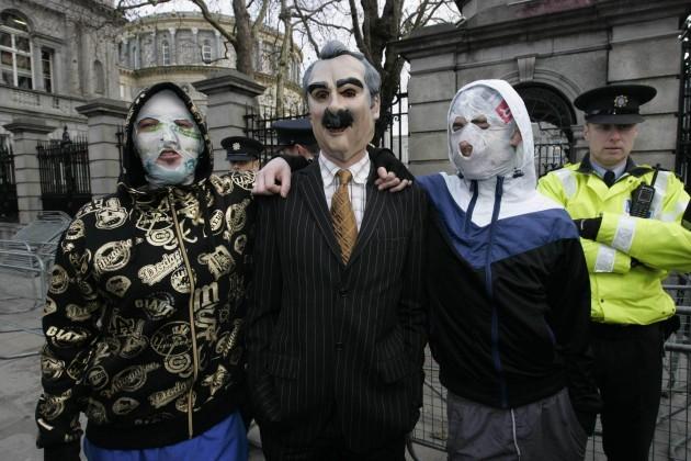 Rubberbandits photocall - Dublin
