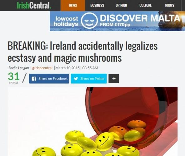 irish central drugs