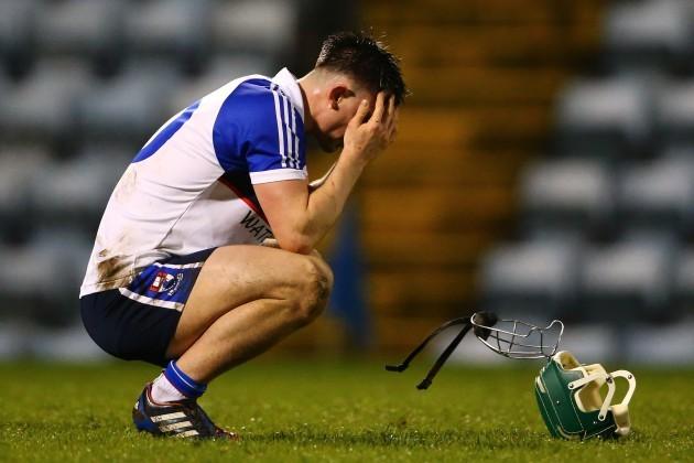 A dejected Harry Kehoe