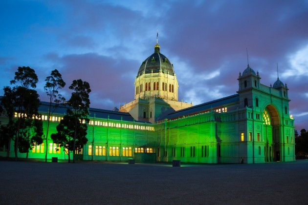 ROYAL EXHIBITION BUILDING, MELBOURNE, JOINS TOURISM IRELAND'S
