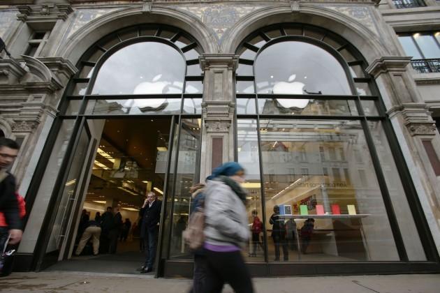 Apple quarterly profits