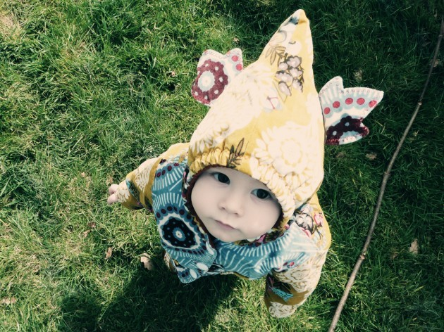 Baby Julian, In A Toddler Travelling Suit