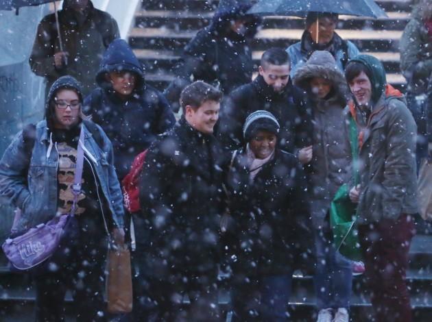 Snowing Weather Scenes