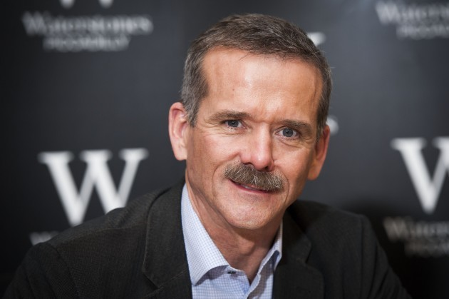 Chris Hadfield book signing - London