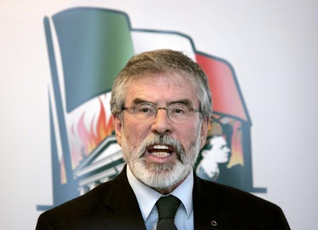 Sinn Fein launched their National Program