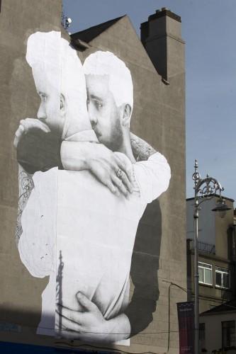 Warning letter sent calling for removal of giant same sex for Dublin gay mural
