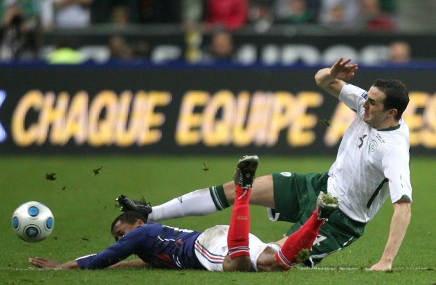 Soccer - FIFA World Cup 2010 - Play Offs - Second Leg - France v Republic of Ireland - Stade de France