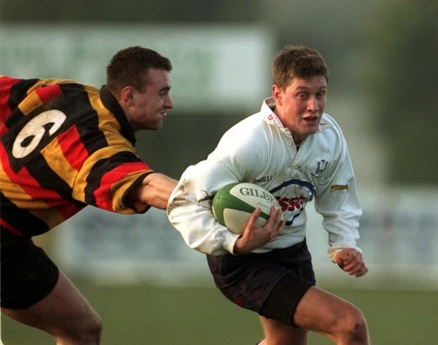 Ronan O'Gara and Aidan McCullen