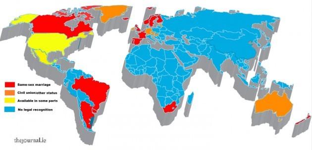Gay Rights Map 32