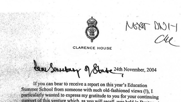 Prince letters legal challenge