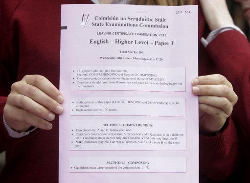 Leaving cert english essay