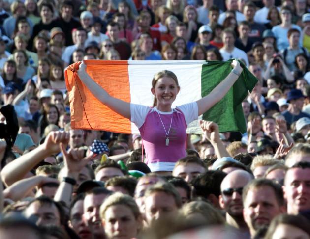 Ire Slane Concert crowd