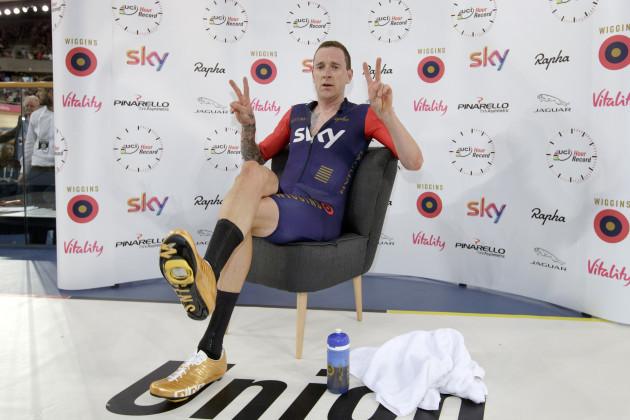 Britain Cycling Wiggins