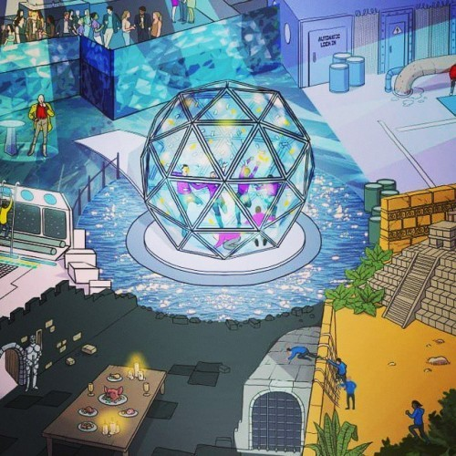 Artists impression of things to come! #thecrystalmaze #immersive #live #livegame #london