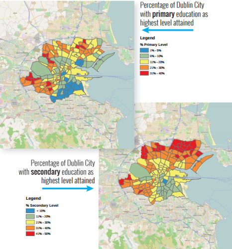 This map shows how dublin is a city divided thejournal click here for larger version publicscrutiny Choice Image