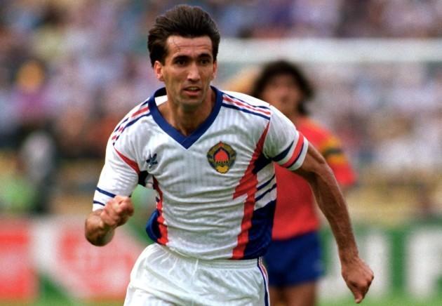 Soccer - World Cup Italia '90 - Yugoslavia v Colombia