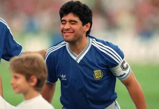 Diego Maradona 1990