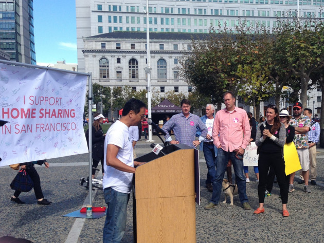 Airbnb Law Rally