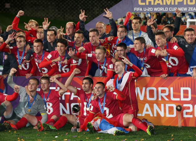 New Zealand Soccer U20 WCUP Brazil Serbia