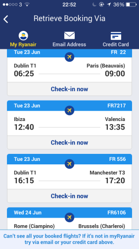 how to access boarding pass on iphone
