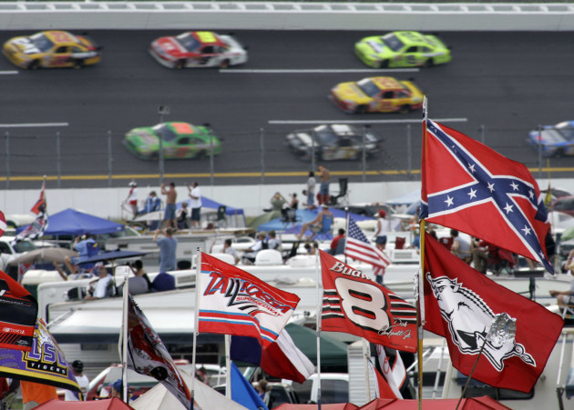 Confederate Flag NASCAR Auto Racing