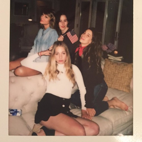 HAIM on Instagram: happy 4th, we love you
