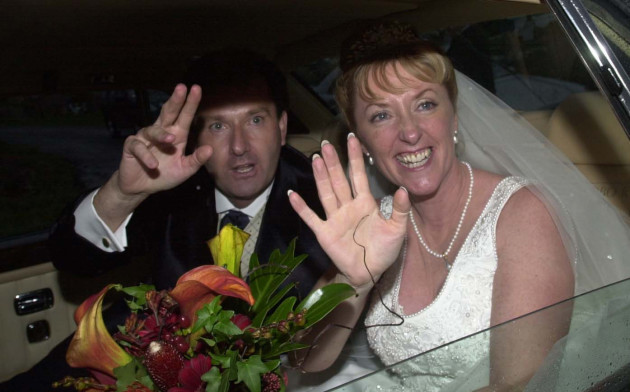 Daniel O'Donnell Wedding