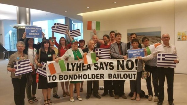 Protest week 227 - Ballyhea bondholder bailout protest | Facebook