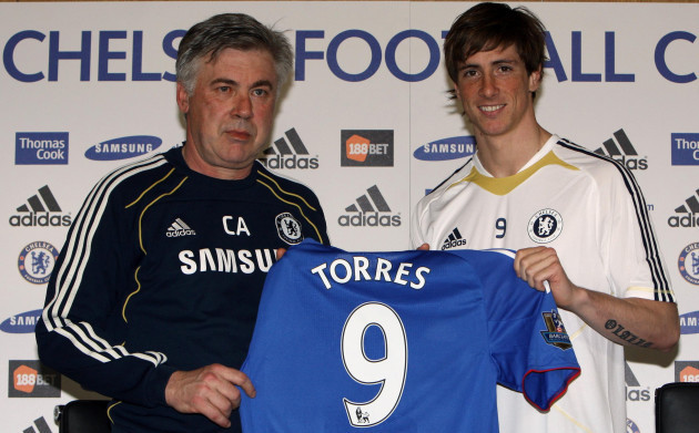 Soccer - Barclays Premier League - Chelsea Press Conference - Fernando Torres Unveiling - Cobham Training Ground