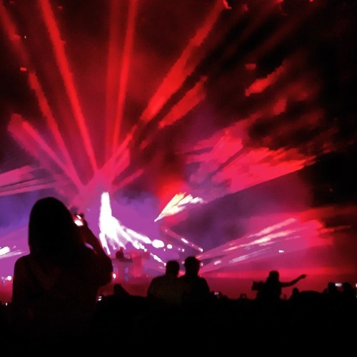 Chemical Brothers. Unbelievable. #longitude