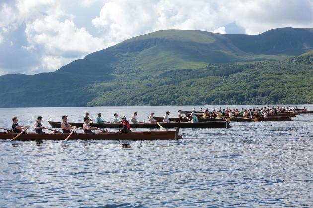 The Killarney Rowing Festival