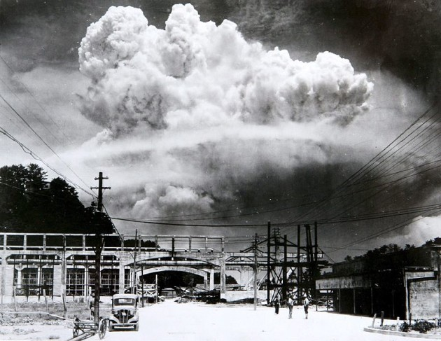 it has been years since people were killed in less than  the atomic cloud over nagasaki from koyagi jima