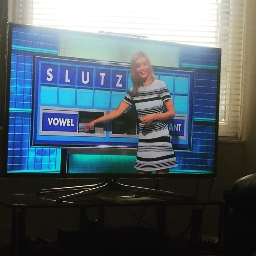 Just watching Countdown and this happened