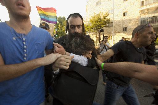 Mideast Israel Gay Pride Attack
