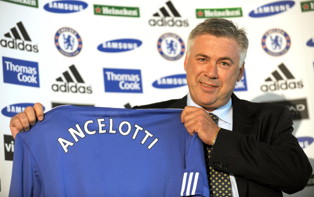 Soccer - Carlo Ancelotti Press Conference - Stamford Bridge