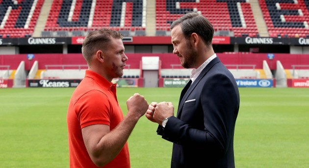 Andy Lee and Billy Joe Saunders