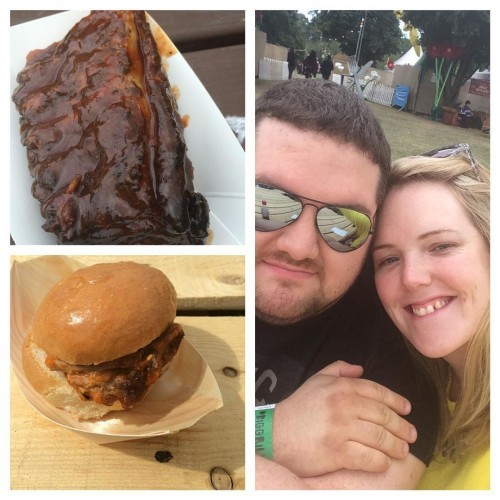 Chowing down at #biggrill today. Delish BBQ food. #bbq #festival #food #offplan #weekends #summer #couple #dublin