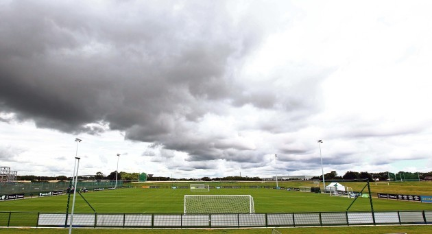 A view of the new FAI training complex in Abbotstown