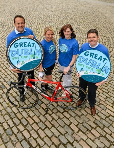 Irish Sports Council and Cycling Ireland launch The Great Dublin Bike Ride