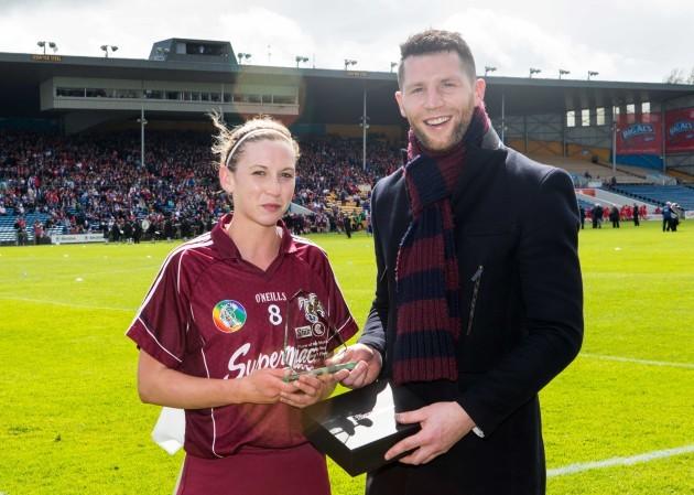 Niamh Kilkenny  and Shane Stapleton