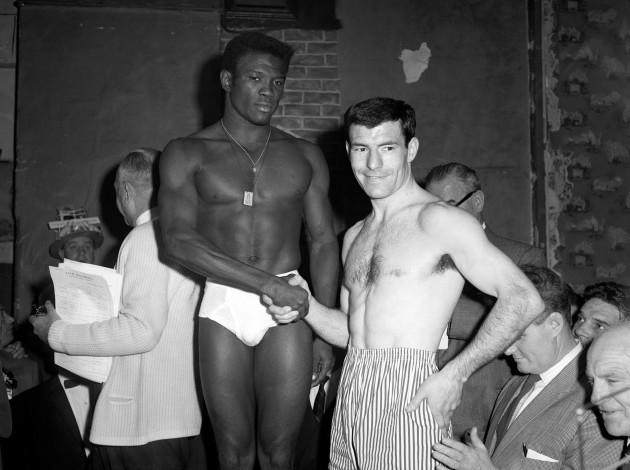 Sport - Boxing - World Welterweight Championship 1964
