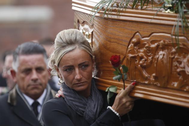 Britain Northern Ireland Funeral