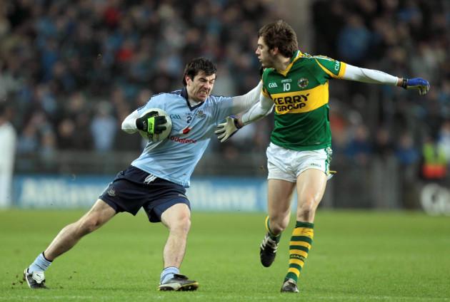 Michael Darragh MacAuley with David Moran
