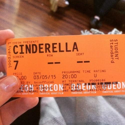 #odeon #cinderella #studentticket