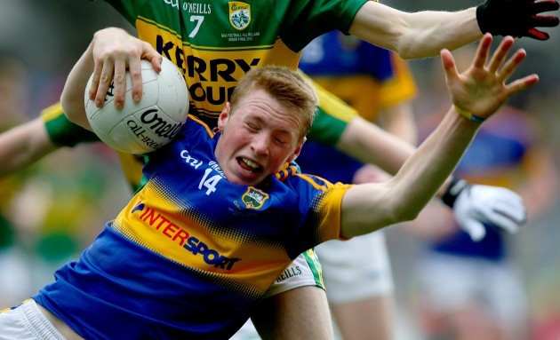 Brian McGrath tackled