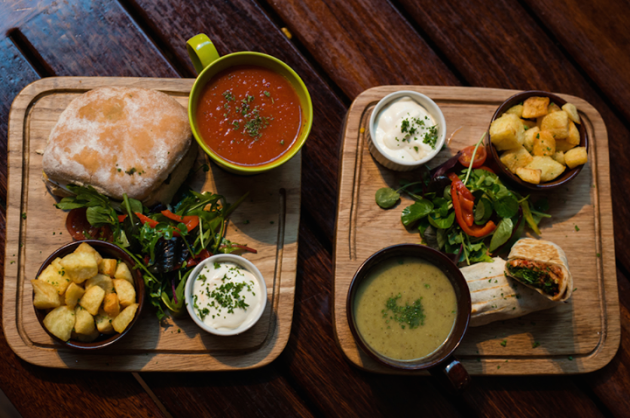 8 great lunches in dublin for under 10 the daily edge for Bar food dublin 2