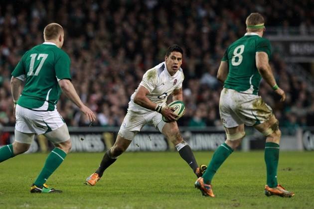 Rugby Union - RBS 6 Nations Championship 2011 - Ireland v England - Aviva Stadium